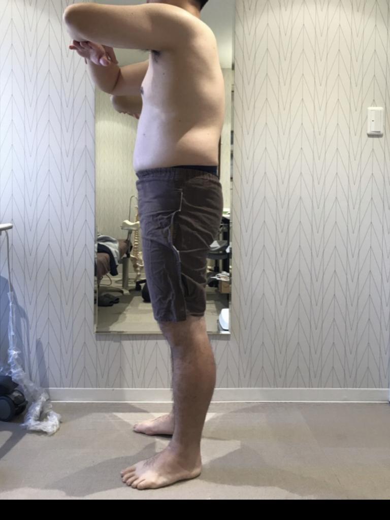 「大学時代の身体に戻りたい!」と一心発起!:BEFORE画像